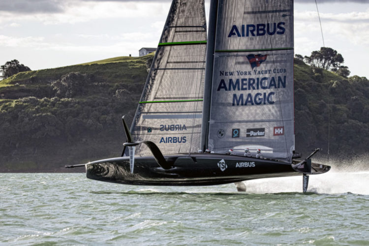 America's Cup Competitor Relies on Composites for Speed and Strength