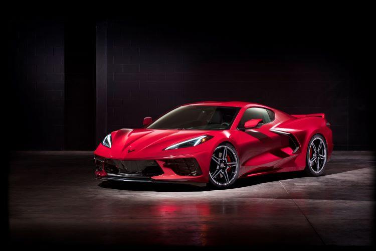 Carbon Fiber Bumper Beam is a Highlight on the New 2020 Corvette