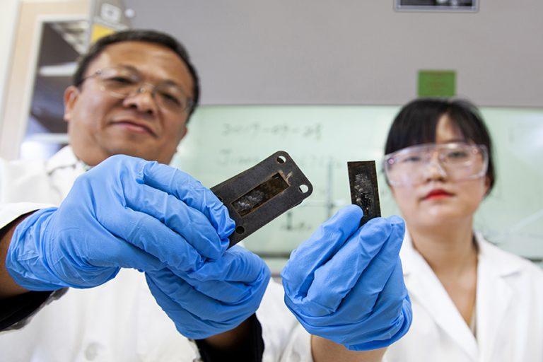 FSU Team Develops Carbon Nanotube Heat Shield for Superfast Aircraft
