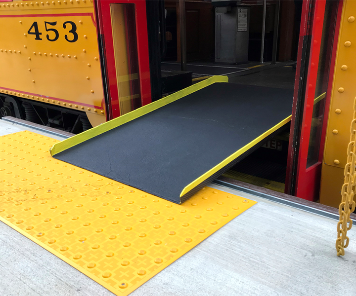 Service Ramps for Disabled Trolley Riders Made Safer with Composites