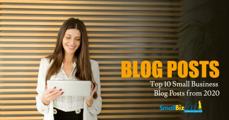Top 10 Small Business Blog Posts from 2020 » Succeed As Your Own Boss