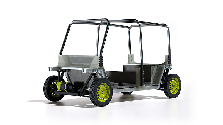 Composites Contribute to Cost-Efficient Utility Vehicle
