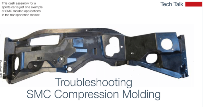 Troubleshooting SMC Compression Molding | Composites Manufacturing Magazine