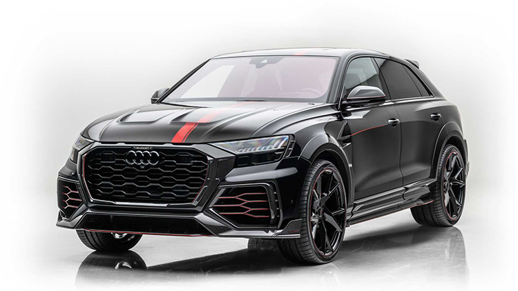 Carbon Fiber Composites Used Inside and Out on MANSORY's Conversion of the Audi RS Q8