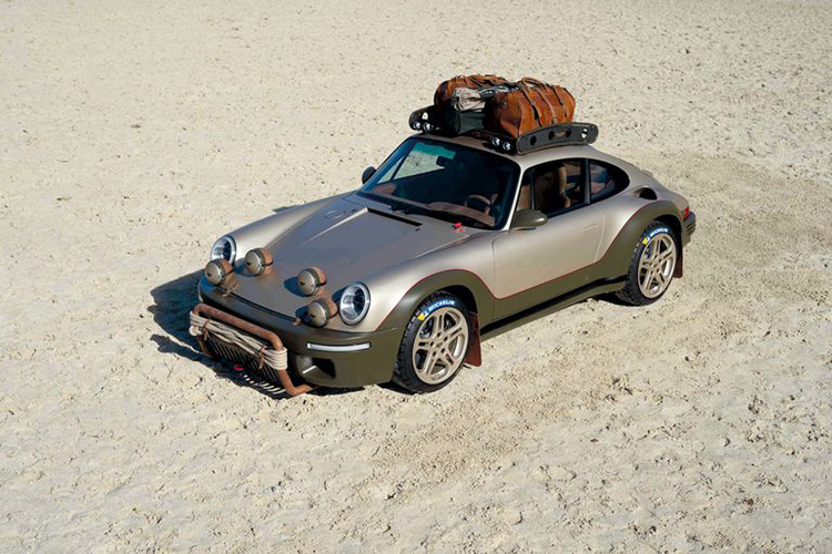 RUF Rodeo: A Carbon Fiber All-Wheel Drive Safari Rally Concept Car