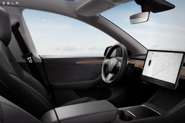 Tesla Updates Model Y Interior Design