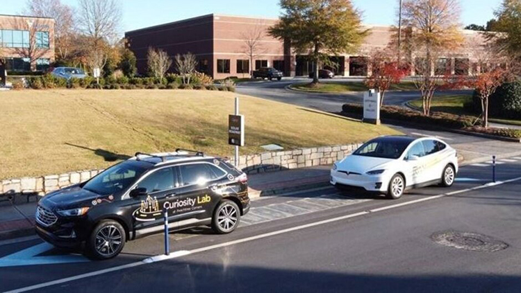 High-Tech Roads Include Solar Panels to Fuel EV Charging Stations