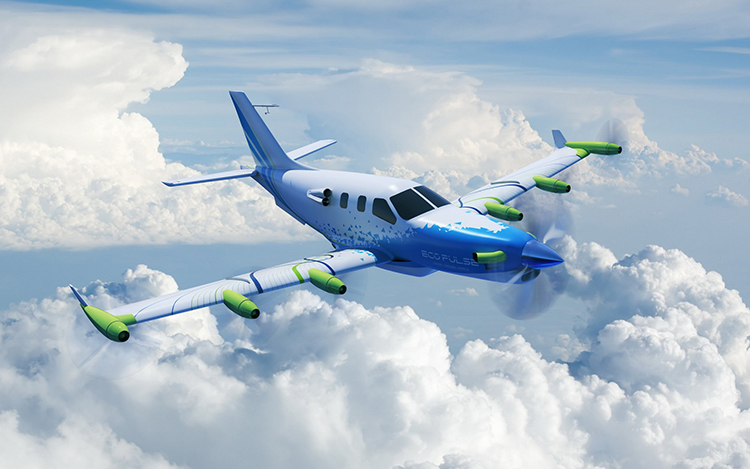 Lightweight Distributed Propulsion Hybrid Aircraft Moves Closer to Take-Off