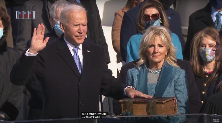 President Joe Biden is Sworn In as President. Now, the Real Work Begins